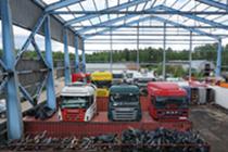 Торговая площадка Разборка грузовиков Baltco