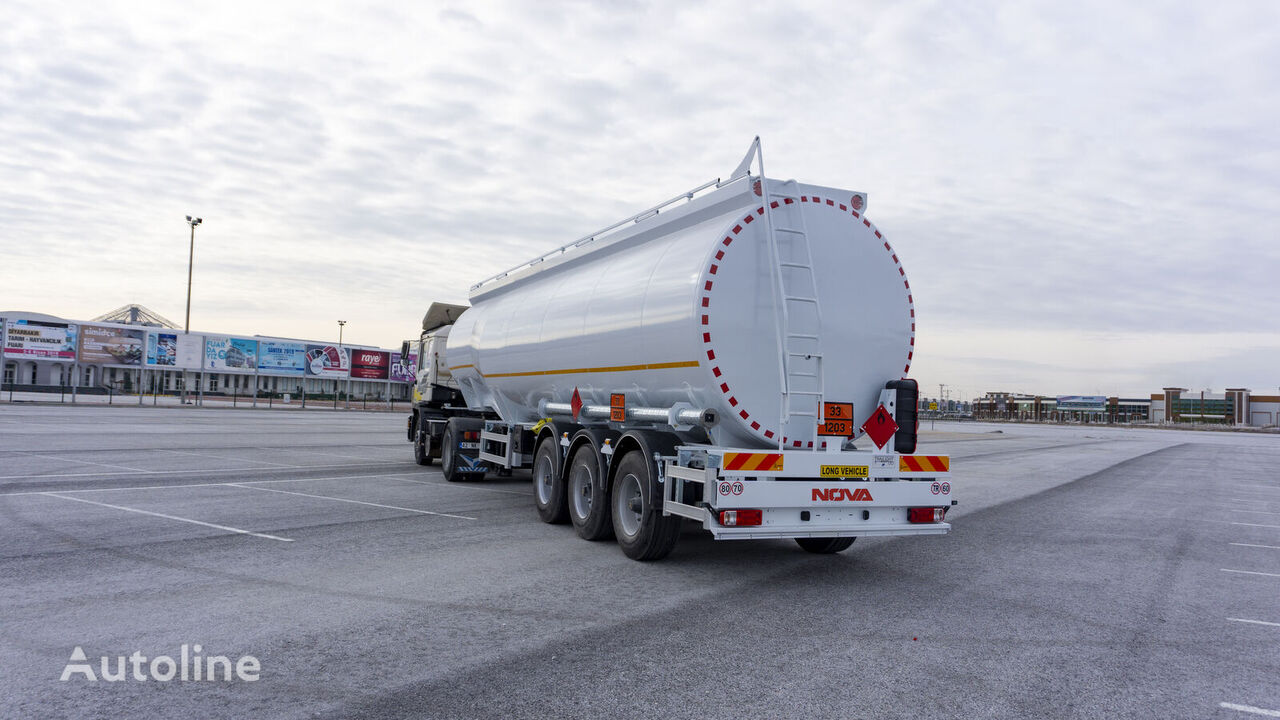 новая цистерна гсм NOVA Bottom loading Fuel Tanker Trailer 45.000 lt