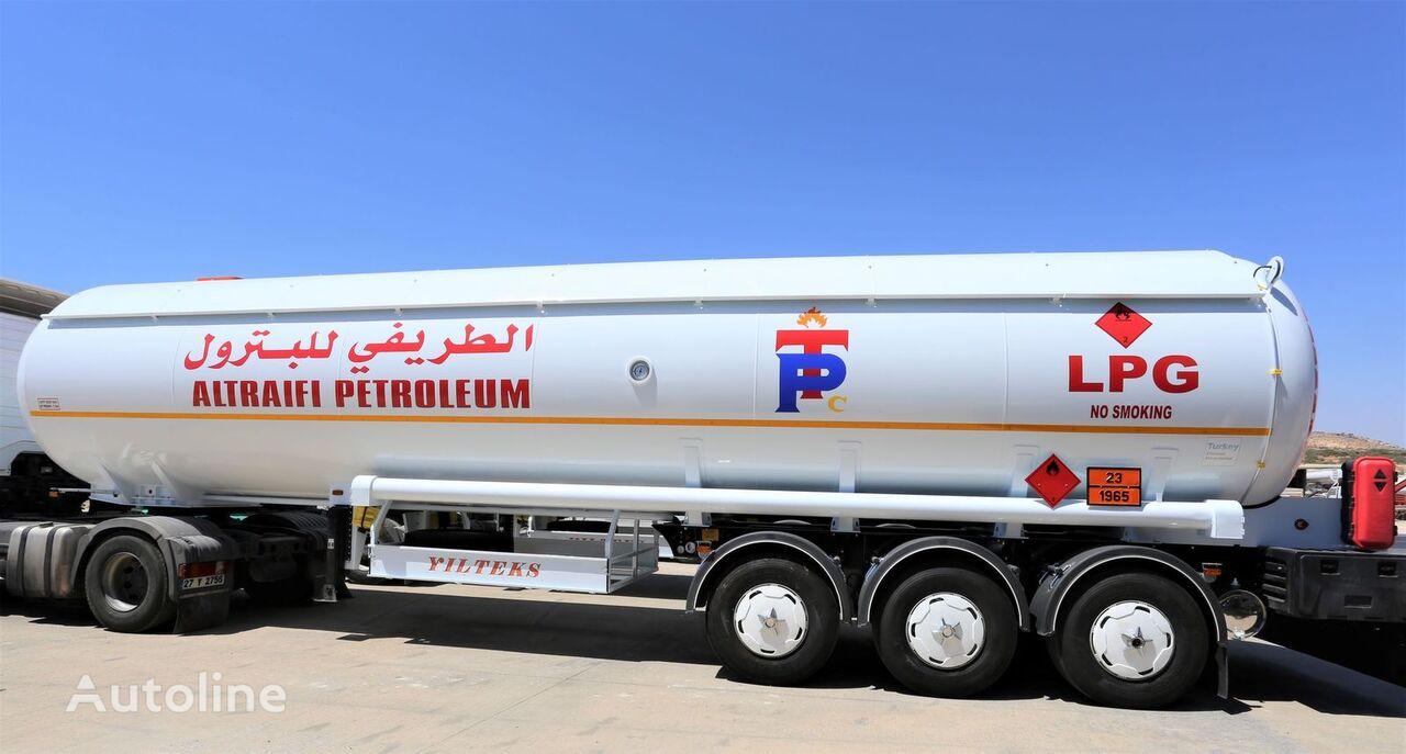новая газовая цистерна YILTEKS Semi Trailer LPG Tank