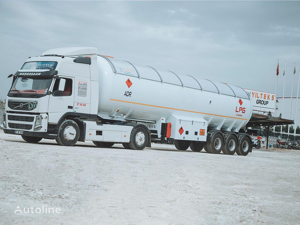 новая газовая цистерна YILTEKS  TRAILER ADR CERTIFICATE SEMI TRAILER