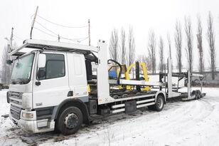автовоз DAF CF 75 360 , E5 , 4x2 ,MEGA , LOHR , retarder , sleep cab + прицеп автовоз