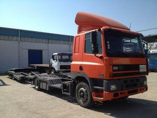 автовоз DAF CF85.380 ATI EURO2 TRUCK / TRACTOR TRANSPORT + TANDEM + прицеп автовоз
