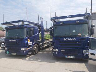 автовоз SCANIA P450 + прицеп автовоз