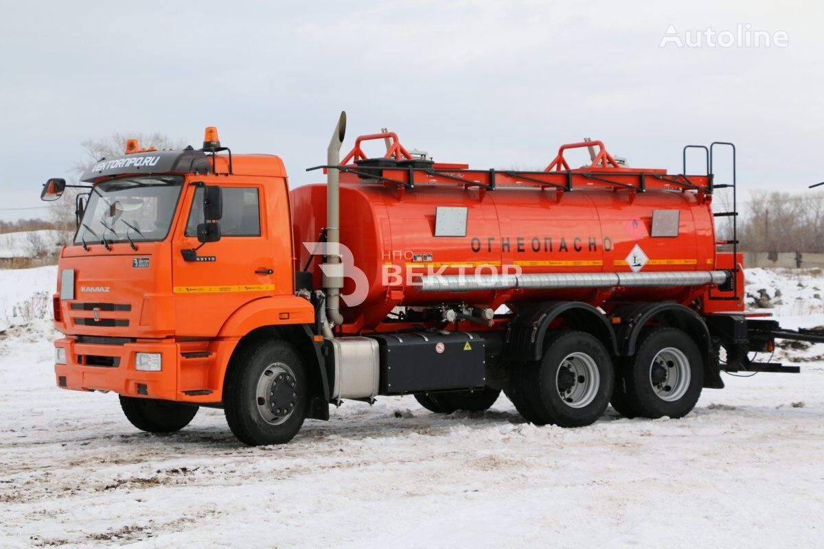 бензовоз КАМАЗ 4680А3