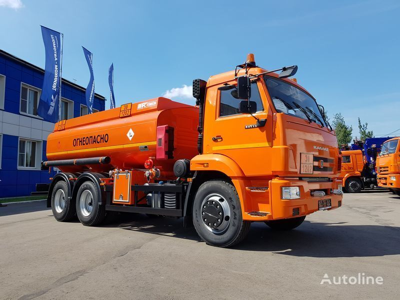 бензовоз КАМАЗ 4693