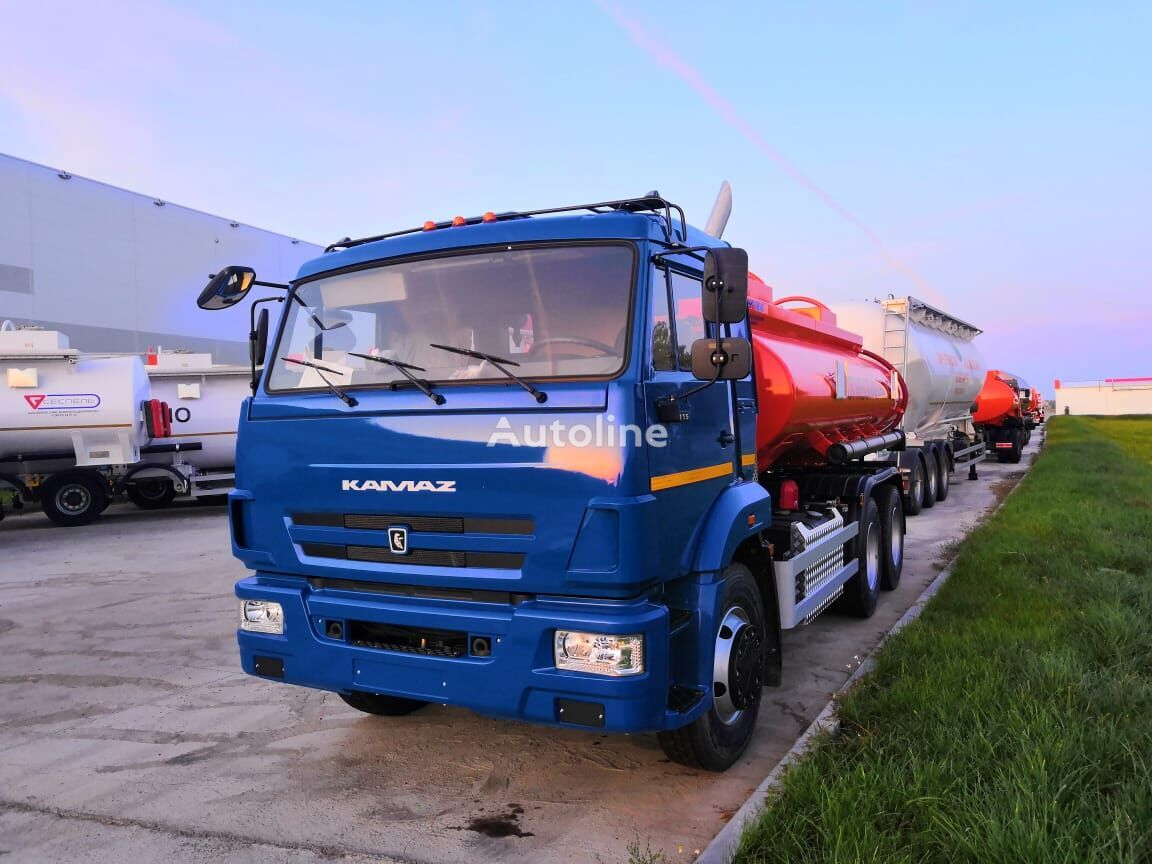 бензовоз КАМАЗ 65115-50 Сеспель RK3312