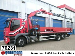 бортовой грузовик IVECO Stralis 310 mit Kran Copma 150.3 Klima/NSW