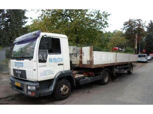 бортовой грузовик MAN L 8.220 Vontató + Clemes platós félpót