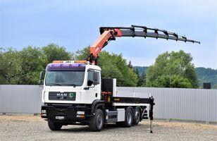 бортовой грузовик MAN TGA 26.430 Pritsche 5,50m +PK 23002 + FUNK/6-4H2