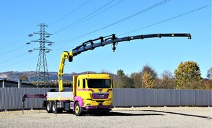 бортовой грузовик MAN TGS 28.440 Pritsche 5,60* HMF 3000 K5 + FUNK !