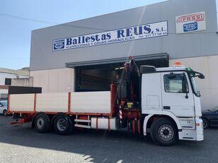 бортовой грузовик MERCEDES-BENZ ACTROS 2536 FASSI 235