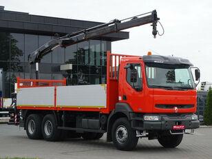 бортовой грузовик RENAULT Kerax 370 dci 6x4 Darus