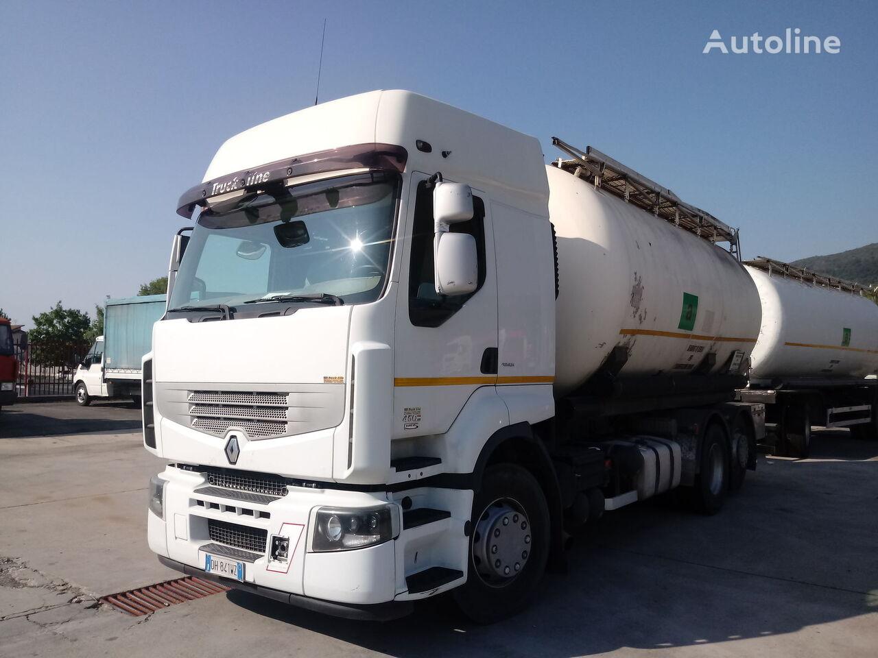 грузовик муковоз RENAULT PREMIUM 450 DXI