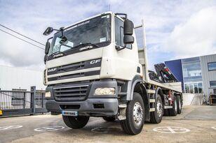 грузовик платформа DAF CF85 360+Plateau 6.6m+HIAB 200C (4xHydr.+Remote C.)