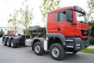 грузовик шасси MAN TGS 50.480 10 × 8-8 BB / EURO 5 / FACTORY NEW