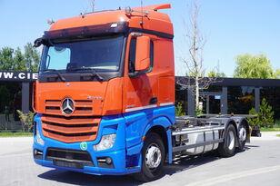 грузовик шасси MERCEDES-BENZ Actros 2542 , E6 , 6X2 , BDF , chassis 7,2m , retarder , 2 beds