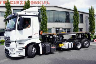 грузовик шасси MERCEDES-BENZ Antos 2543 E6 6x2 BDF / Wilhelm Wellmeyer