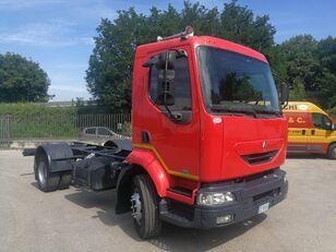 грузовик шасси RENAULT MIDLUM 180.130 AUTOTELAIO BALESTRATO, PASSO 3700, 6 MARCE, PTO