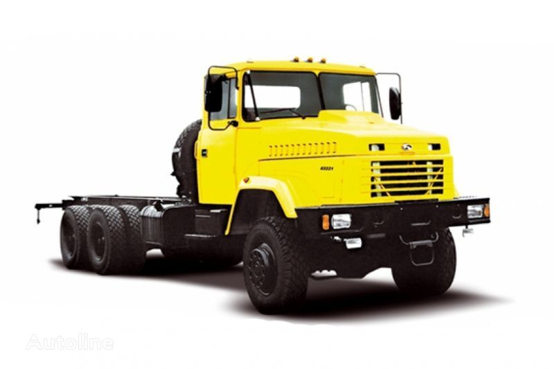 новый грузовик шасси КРАЗ 63221 тип 2