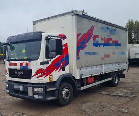 грузовик штора MAN TGM 15.250 from FR, 214000 km