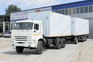 новый изотермический фургон КАМАЗ 65111 + прицеп изотермический