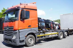 контейнеровоз MERCEDES-BENZ Actros 2542 , E6 , BDF , Chassis 7m , wheelbase 4,9 , retarder