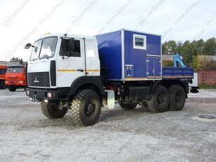 новый кунг МАЗ 6317F9 с КМУ