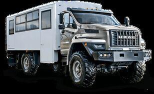 новый кунг УРАЛ NEXT 32552-5013-71Е5 Вахтовый автобус