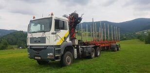 лесовоз MAN TGA 33.430 6x6 + NACZEPA