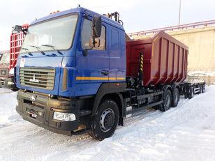 новый ломовоз МАЗ 6312C5 с гидроманипулятором