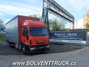 тентованный грузовик IVECO Eurocargo 120E25, Euro 5,shrnovačka + čelo, manuál