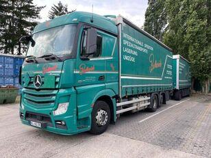 тентованный грузовик MERCEDES-BENZ 2545 L 6X2 ACTROS / EURO 6