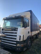 тентованный грузовик SCANIA 124L 360 Gearbox GRS900 3+3