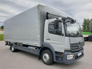 тентованный грузовик MERCEDES-BENZ 1224 L Atego Pritsche LBW - silber-neutral  1.H