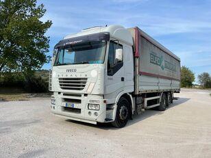 торговый грузовик IVECO STRALIS 260E40 ZF sponda idraulica