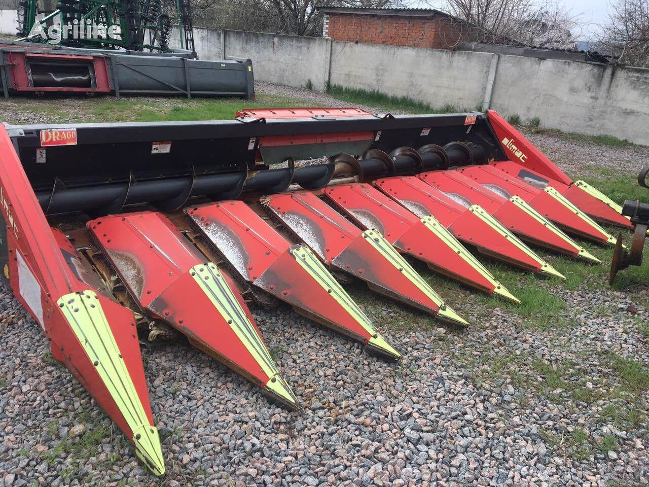 жатка кукурузная OLIMAC DRAGO 8 кукурузная жатка Олимак Драго 8 рядов в наличии в Украин