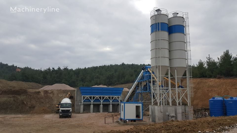новый бетонный завод PROMAX STAR S100-SNG Stationary Concrete Batching Plant Single Shaft