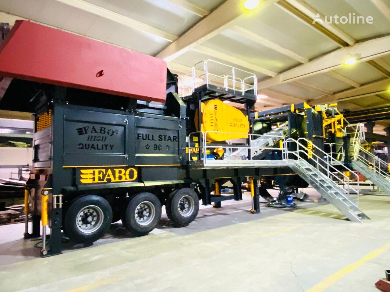 новая дробильная установка Fabo FULLSTAR 90 Crushing, Washing And Screening  Plant