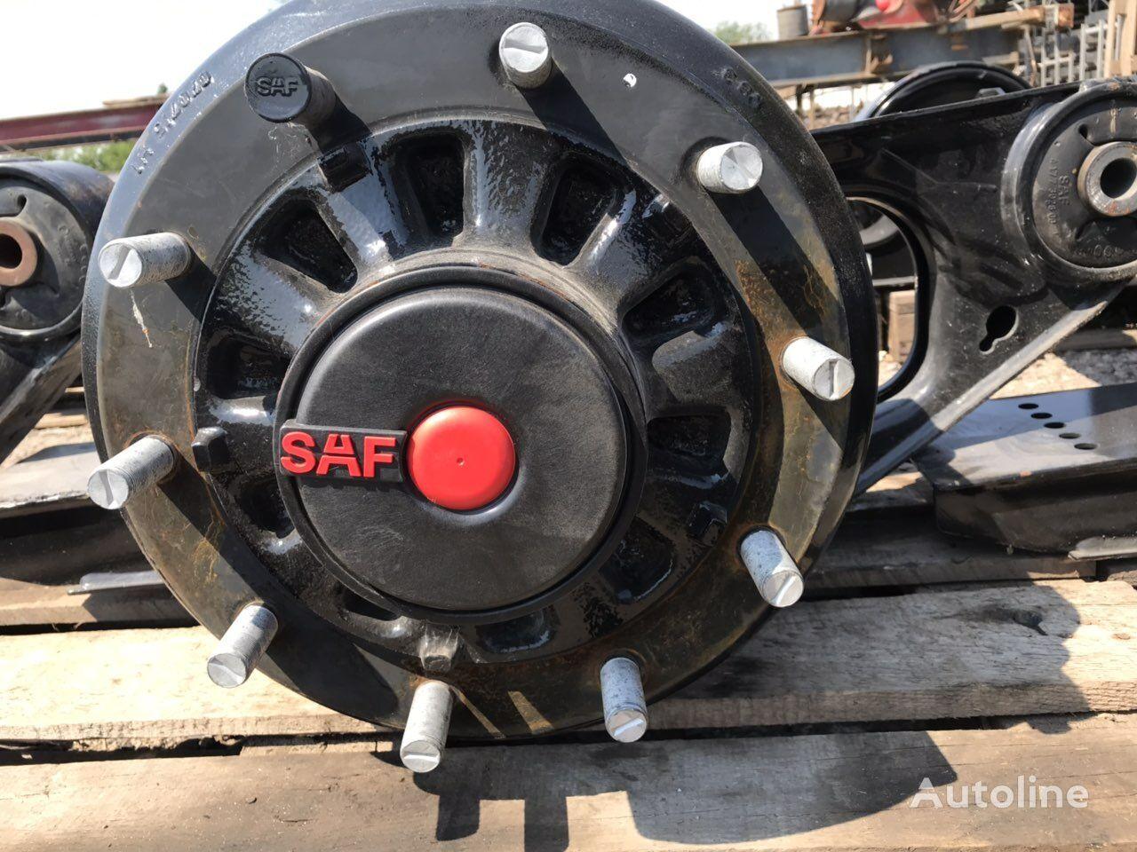 новая ступица SAF для полуприцепа